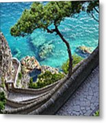 View From Capri.italy Metal Print
