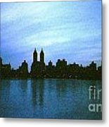 View From Central Park Metal Print
