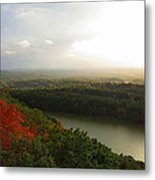 View From Chauncey Peak Metal Print