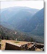 View From Delphi 2 Metal Print