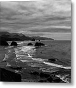 View From Ecola Park Metal Print