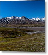 View From Eielson Metal Print