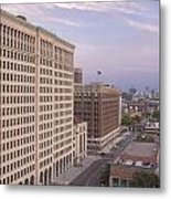 View From Fisher Building  Metal Print