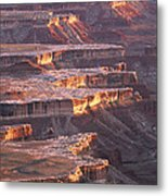 View From Grandview Point Canyonlands Metal Print
