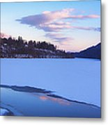 View From Hinsdale Bridge Metal Print