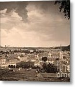 View From Hradcany Of Mala Strana Metal Print