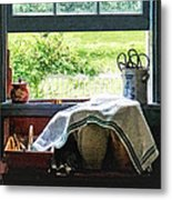 View From Kitchen Window Metal Print