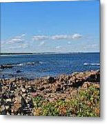 View From Marginal Way Ogunquit Maine 3 Metal Print