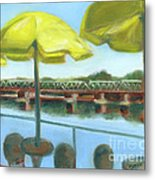 View From Martine's-new Hope Metal Print