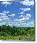 View From Monticello Metal Print