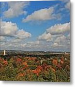 View From Mt Auburn Cemetery Tower Metal Print