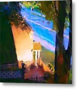 View From My Window On A Summer Afternoon  B-15 Metal Print