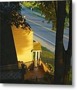View From My Window On A Summer Afternoon  B-21 Metal Print