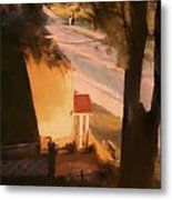 View From My Window On A Summer Afternoon  B-3 Metal Print
