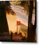 View From My Window On A Summer Afternoon  B-9 Metal Print
