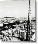 View From Notre Dame Metal Print