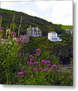 View From Port Isaac Metal Print