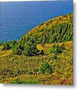 View From Skyline Trail In Cape Breton Highlands Np-ns Metal Print