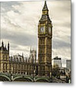 View From Southbank Metal Print