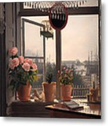 View From The Artist's Window Metal Print