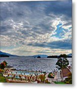 View From The Balcony Suite - Sagamore Resort Metal Print