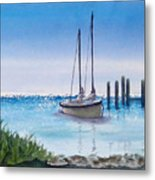 View From The Barnacle Metal Print