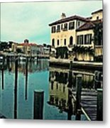 View From The Boardwalk 3 Metal Print by K Simmons Luna