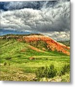 view from the Chief Joseph Highway  Metal Print
