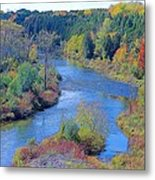 View From The Dam Metal Print by Peter Jackson