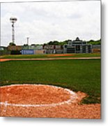 View From The Dugout Metal Print