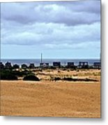 View From The Dunes Metal Print