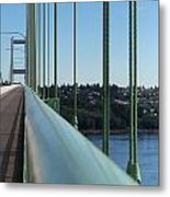 View From The Edge Metal Print