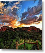 View From The Fence  Metal Print