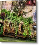 View From The Grand Canal China Metal Print
