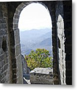 View From The Great Wall 1019 Metal Print