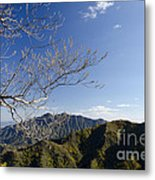 View From The Great Wall 842 Metal Print