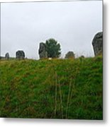 View From The Henge Metal Print