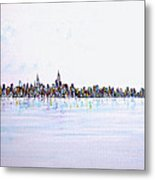 View From The Hudson Metal Print