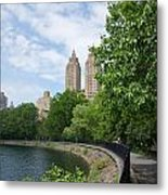 View From The Park West Side Metal Print