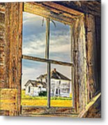 View From The Stable Metal Print