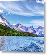 View From The Stern Metal Print
