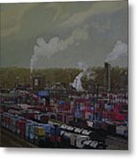 View From Viaduct Metal Print