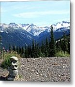 view from Whistler mountain Metal Print