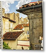 View In Cognac Metal Print