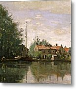 View In Holland Metal Print