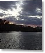 View In Maine Metal Print