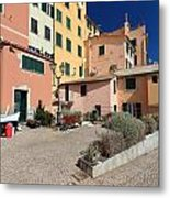 view in Sori Italy Metal Print