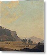 View Near Fort Gwalior, India, C.1783 Metal Print