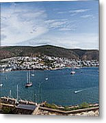 View Of A Harbor From A Castle, St Metal Print