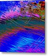 View Of A Rain Storm 2  Metal Print